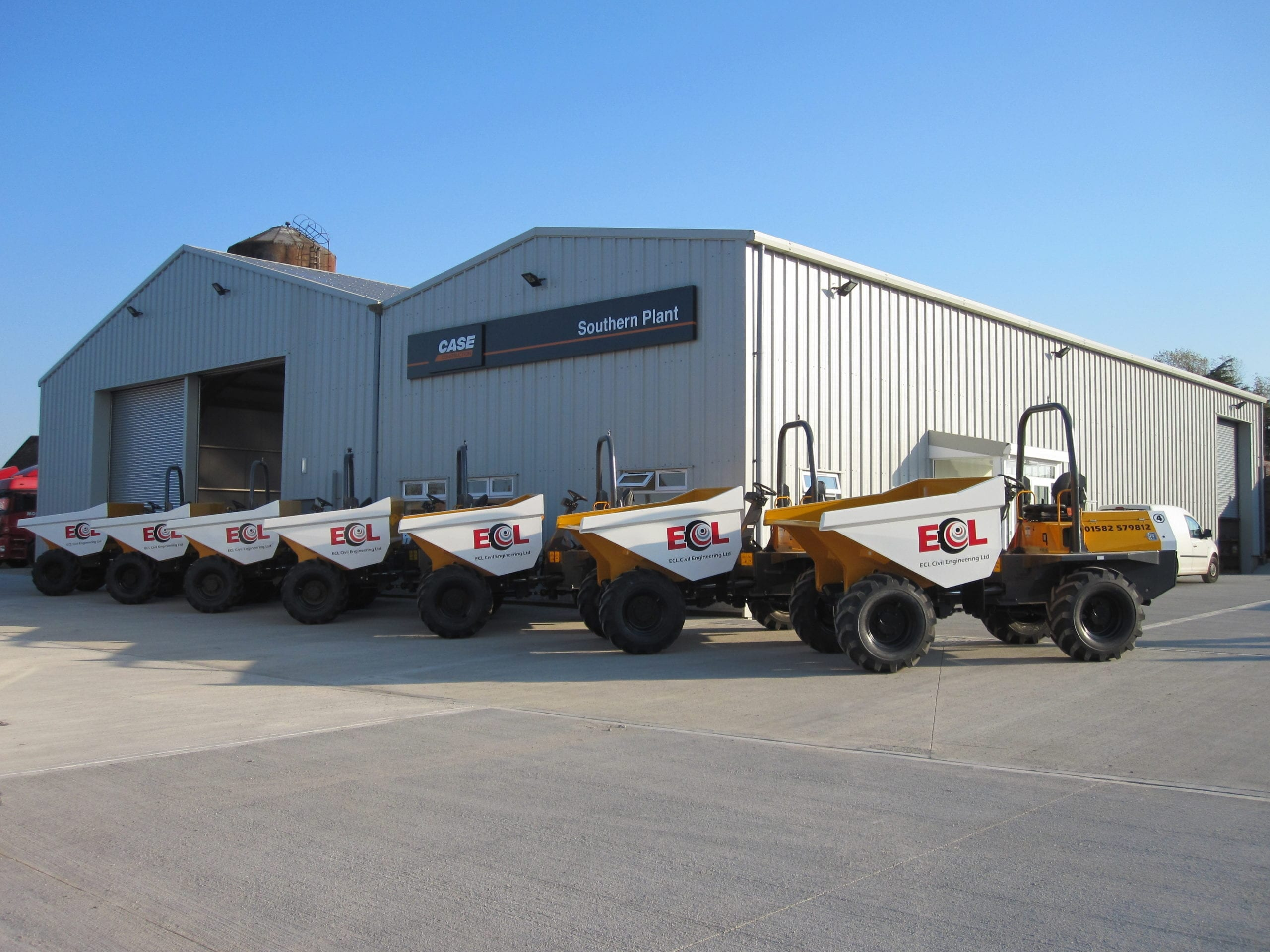 ECL Fleet of Dumpers