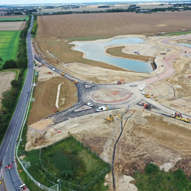 Cambourne major infrastructure