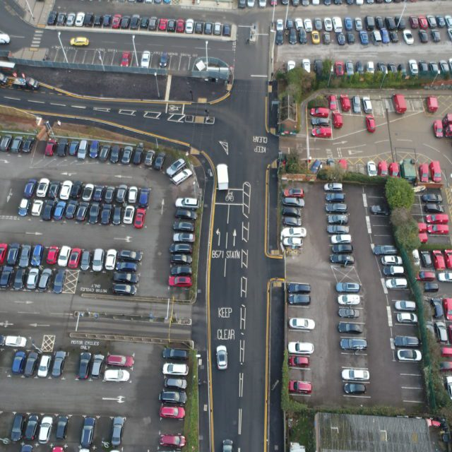 car park infrastructure Finedon
